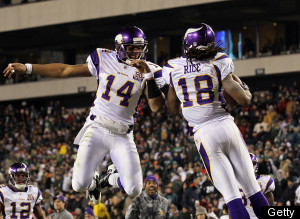 Joe Webb Vikings Eagles