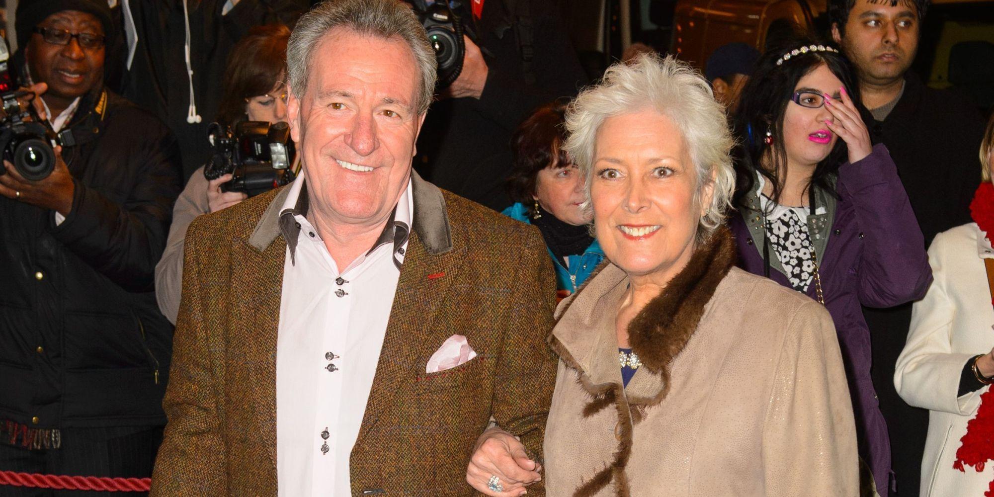 Lynda Bellingham funeral: Christopher Biggins and Coleen
