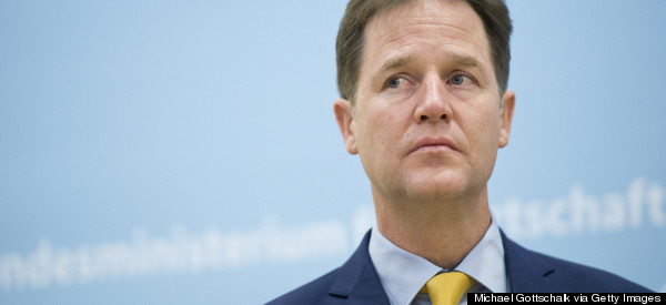 Nick Clegg Backs Curbs On Tax Credits For Immigrants