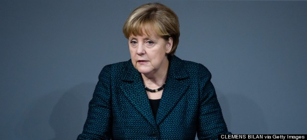 Germany's Merkel Says Continued Russia Sanctions Are 'Unavoidable'