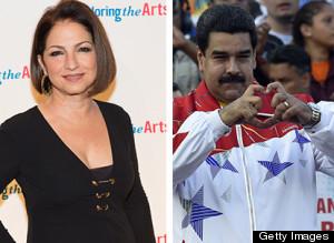 Maduro acusa a Gloria Estefan de mafiosa