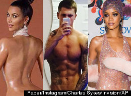 From Kim K To Dan O: The 30 Most Naked Celebs Of 2014