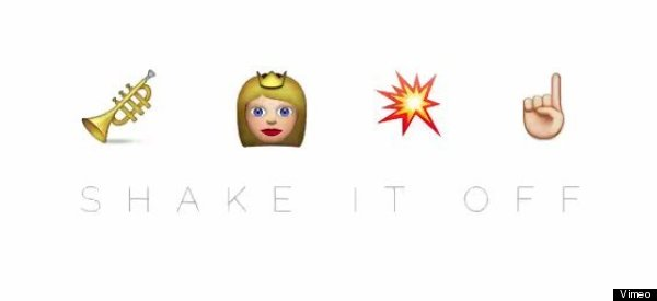 'Shake It Off' Is Even Better When Told In Emoji