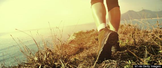 walking feet nature