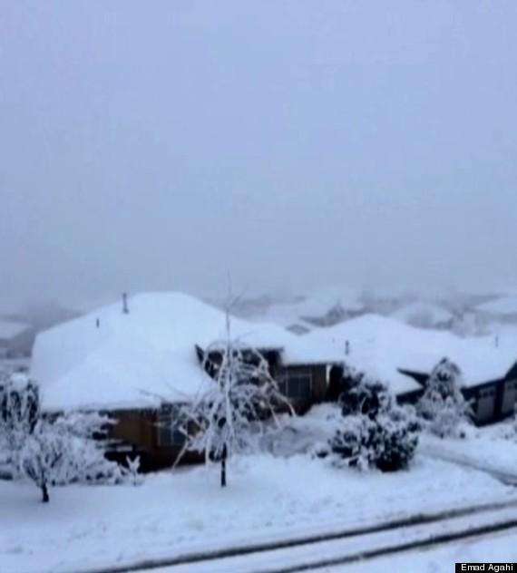 kelowna snow