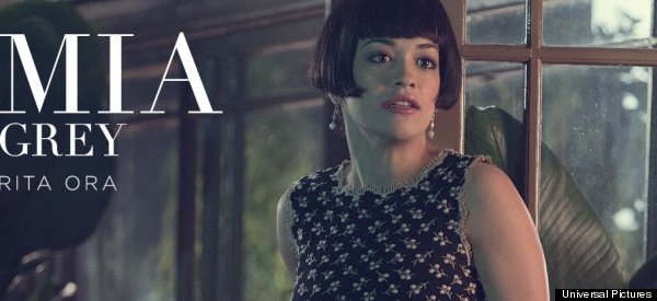 Rita's Wig Steals The Show In 'Fifty Shades' Teaser Pics