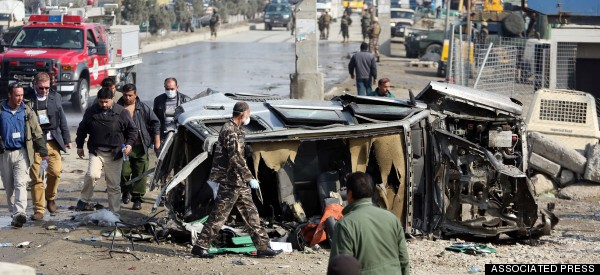 5 Killed In Suicide Attack On British Embassy Vehicle