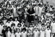 St Winifred's choir in 1980 | Pic Getty Images