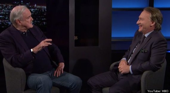john cleese and bill maher
