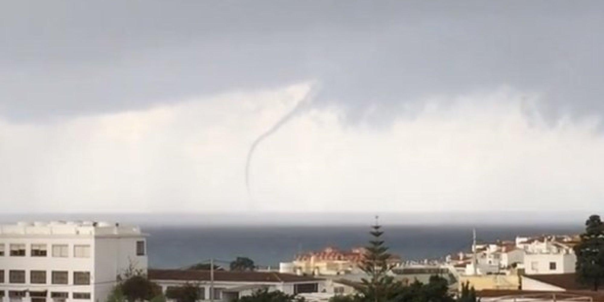 Tornado en m laga el viento de hasta 180 km hora causa - Tornados en espana ...