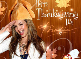 Los famosos mandan sus mensajes de Acción de Gracias
