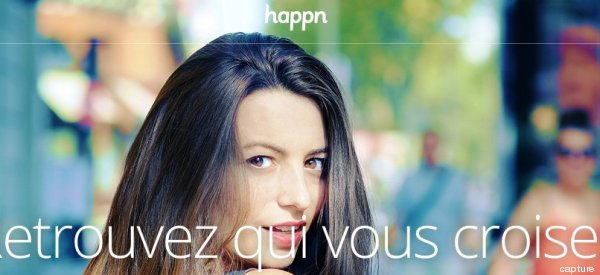 Happn sans facebook