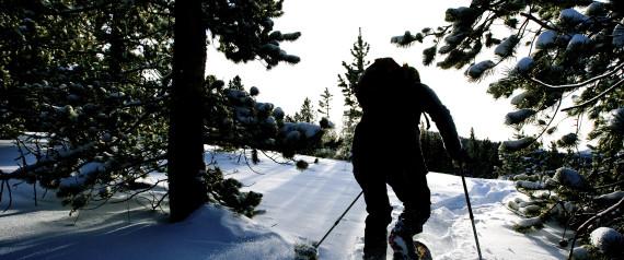ALBERTA SNOWSHOEING