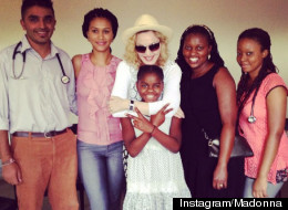 Madonna Returns To Malawi