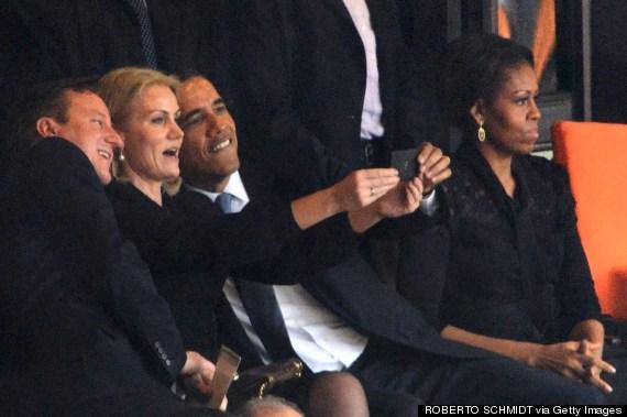 cameron obama selfie