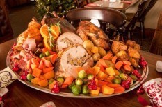 Christmas dinner | Pic: Cavendish Press