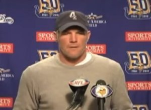 Brett Favre Retirement Speech Video