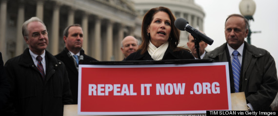 michele bachmann repeal