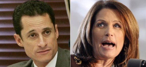Michele Bachmann Anthony Weiner