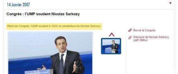 sarkozy ump 100