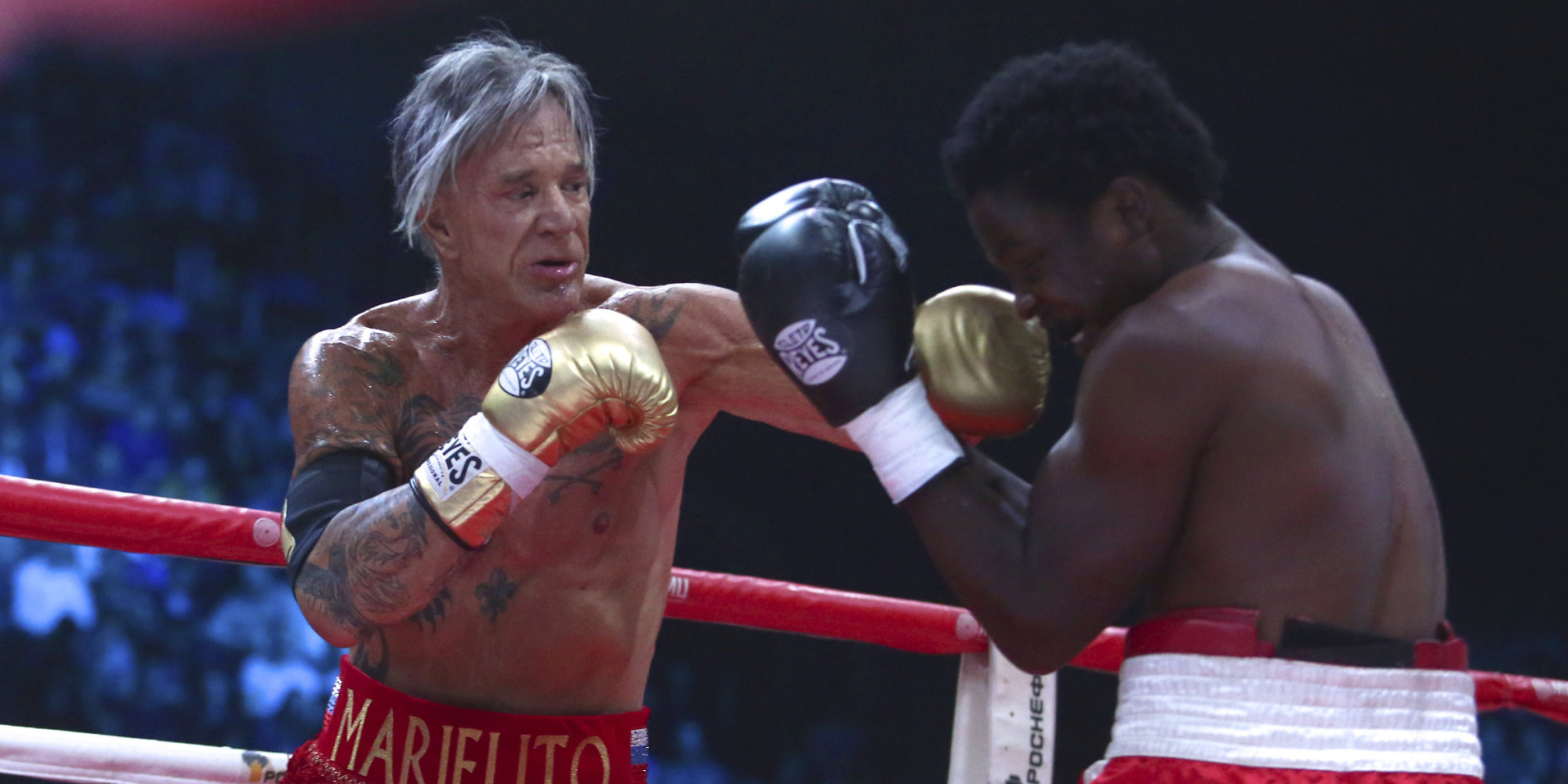 Mickey Rourke Boxing M...