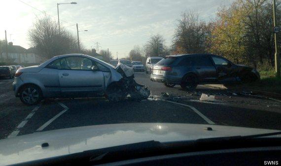 beckham crash