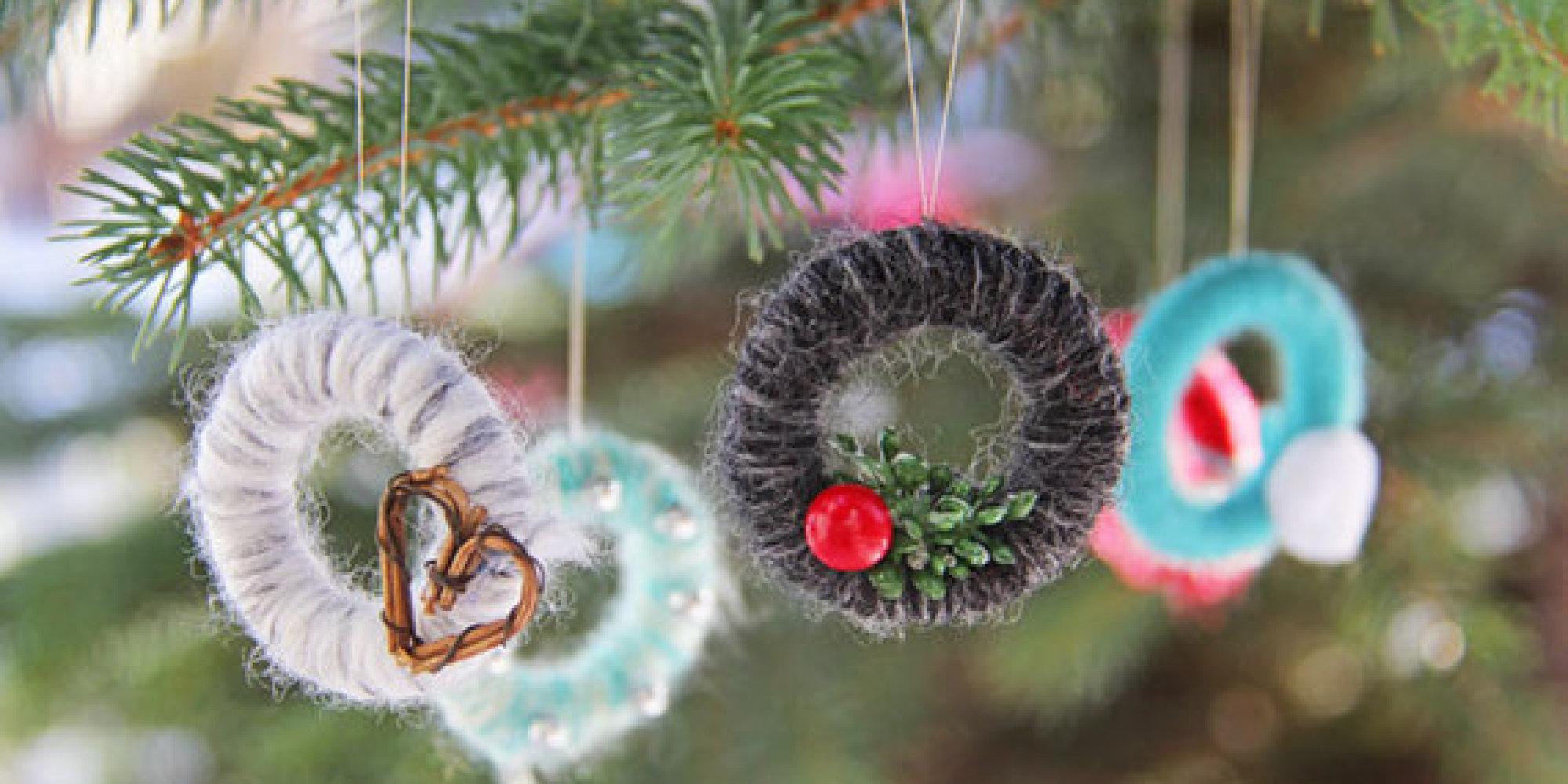 Hometalk diy christmas window decoration - 33 Totally Original Diy Ornaments That Win At Christmas Tree Decorating Huffpost