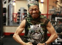 Long Live The 77-Year-Old Weightlifting Champ!