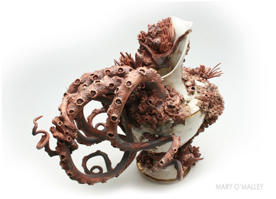 These Ceramics Encrusted With Crustaceans Are Our New