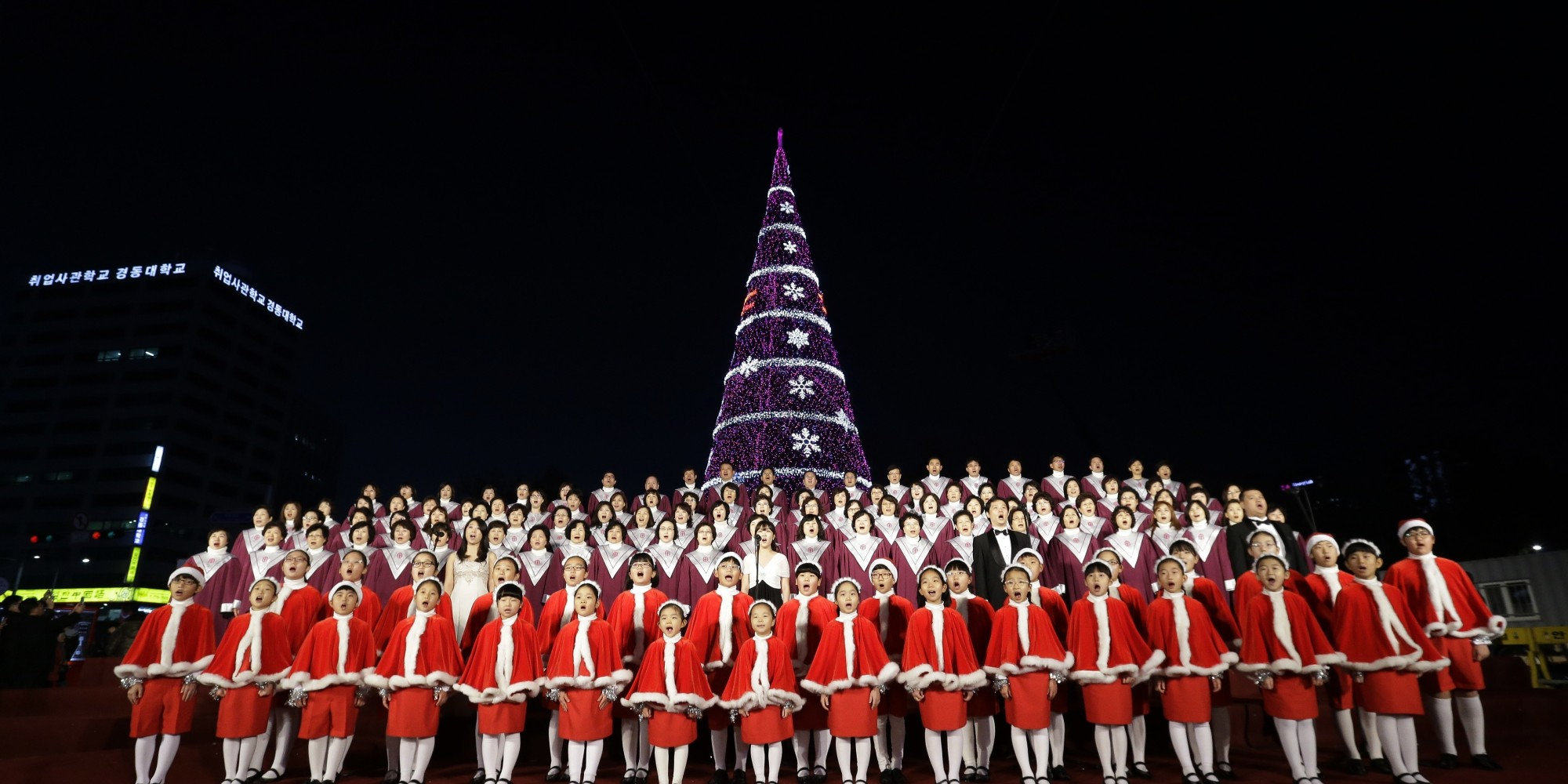 O CHRISTMAS TREE SOUTH KOREA