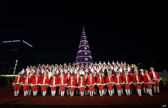 christmas tree south korea