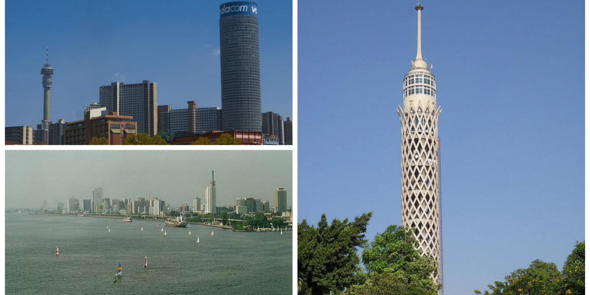 Top 5 les tours les plus hautes d 39 afrique photos for Tour les plus hautes