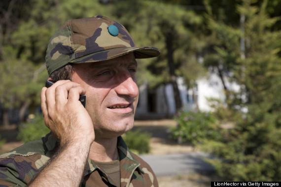 soldier phone