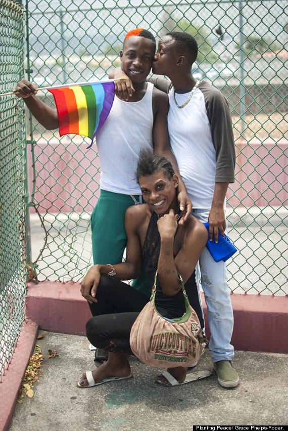 Jamaican lesbian