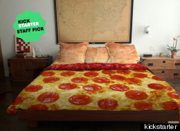 'Pizza Bed' May Put You In Danger Of Eating Your Duvet Cover