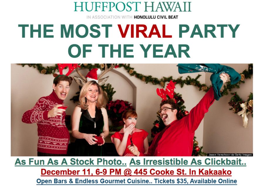 huffpost hawaii party