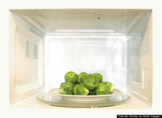 microwave vegetables