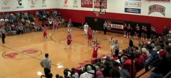 AUSTIN GROFF BUZZER BEATER VIDEO