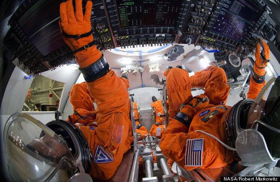 Orion Spacecraft Cockpit