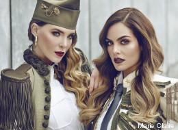 Belinda y Ximena Navarrete posan juntas para Marie Claire