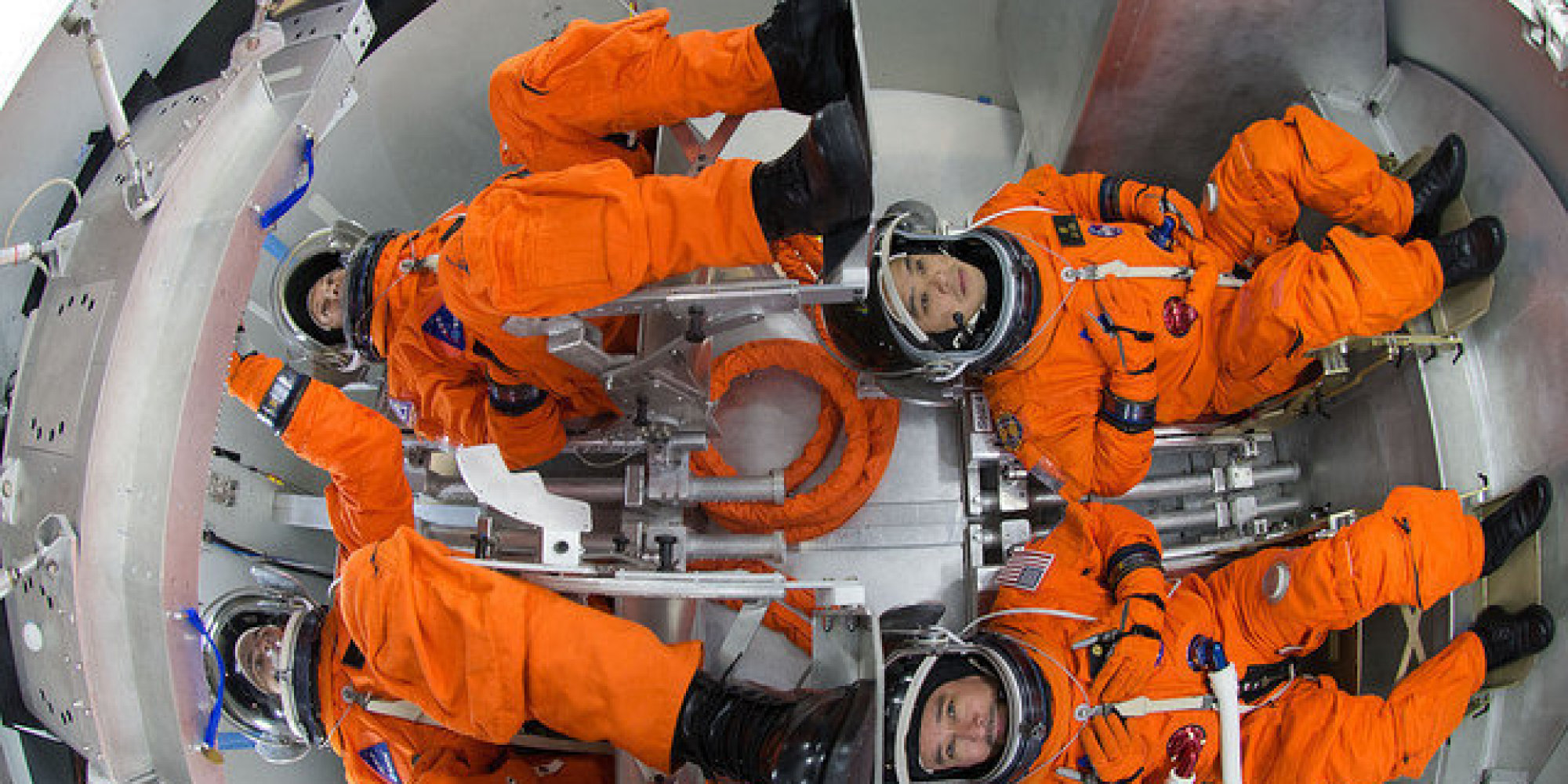 No 2  Day 1 inside NASA