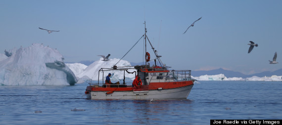 arctic fishing