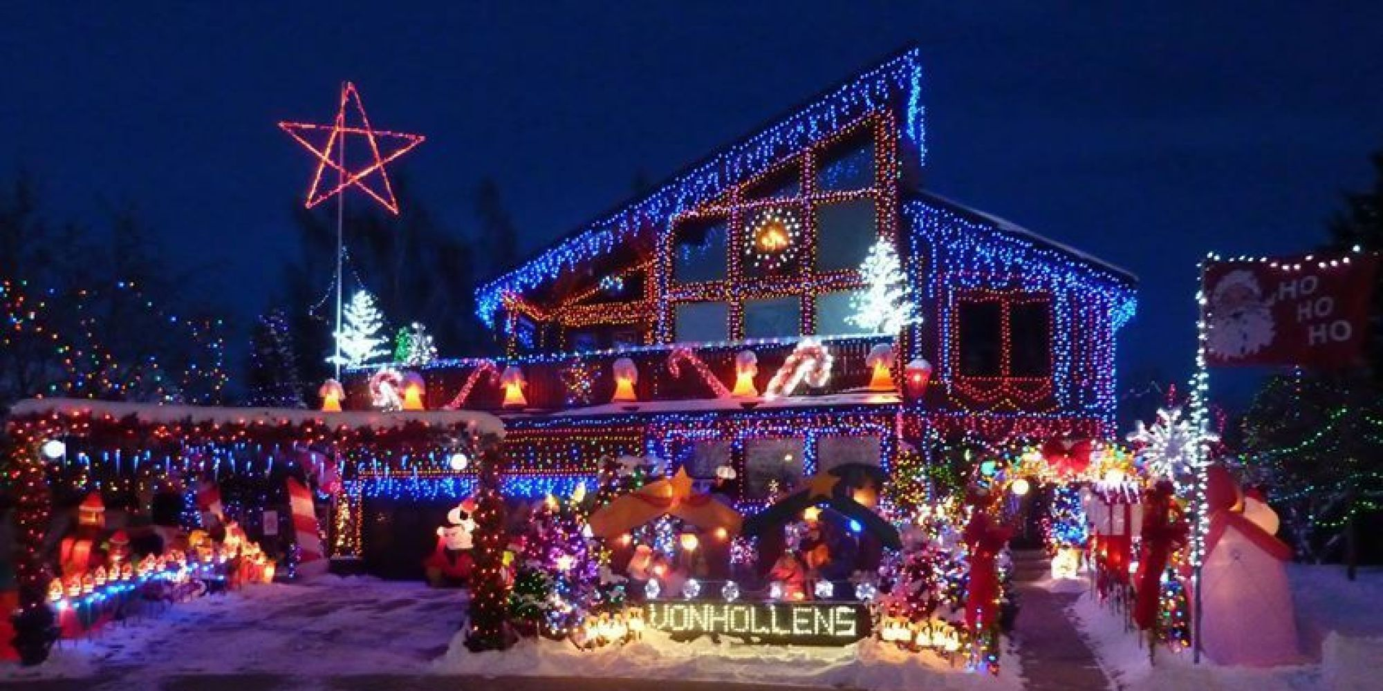 cool christmas house lighting. Cool Christmas House Decorations In Toronto. Lighting