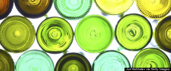 wine bottle recycle