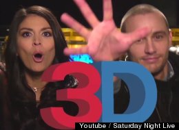 James Franco And Cecily Strong Get Experimental In Their 'SNL' Promo