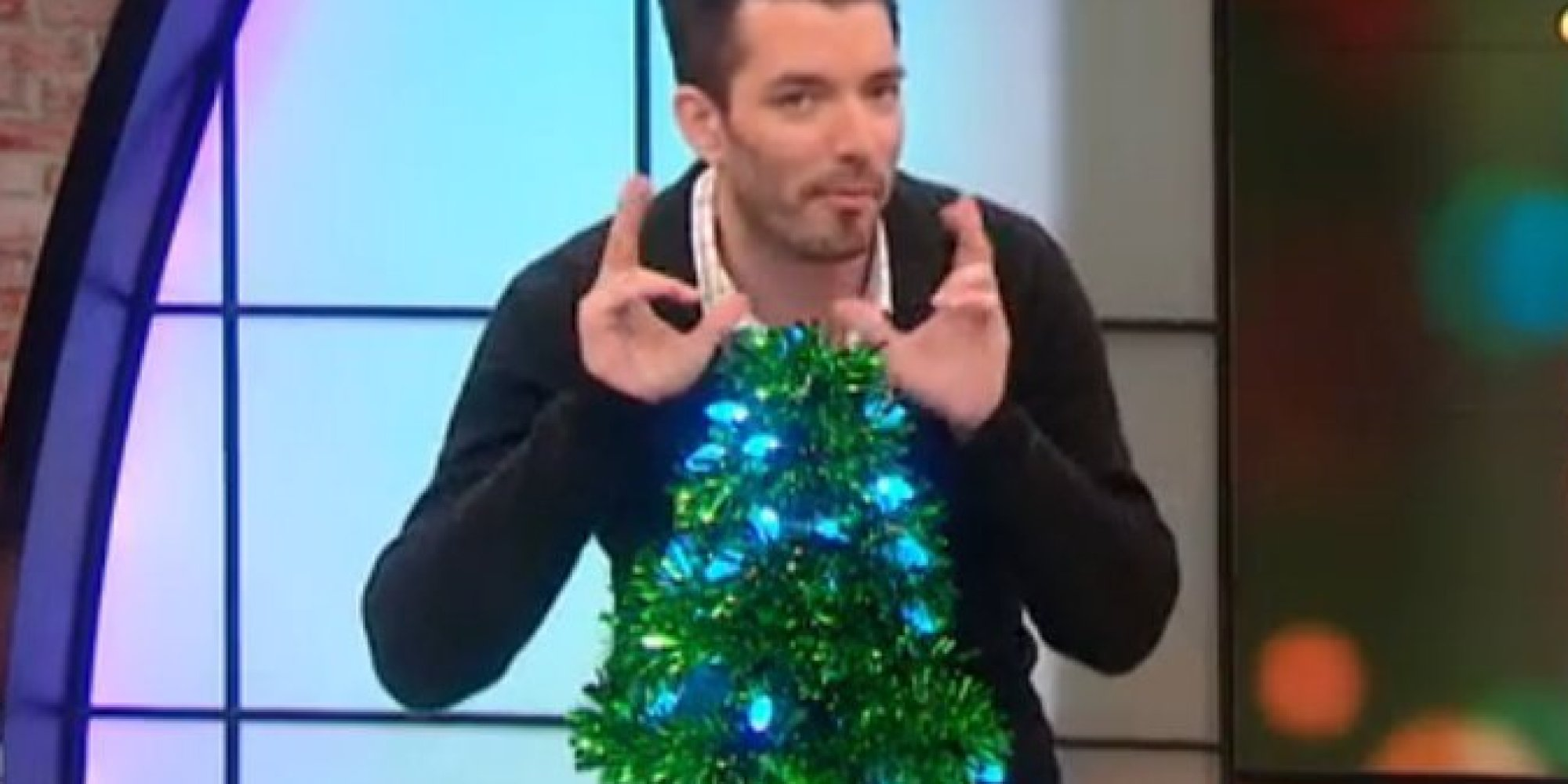 The perfect christmas tree is made from coat hangers