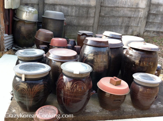 kimchi earthenware