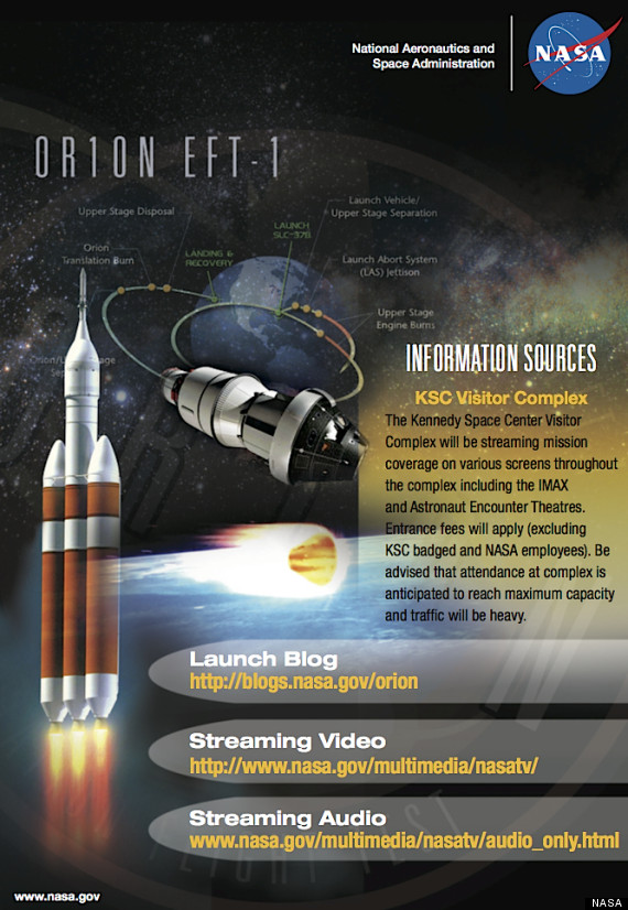 orion launch nasa