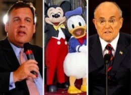 Rudy Giuliani Chris Christie Disney World