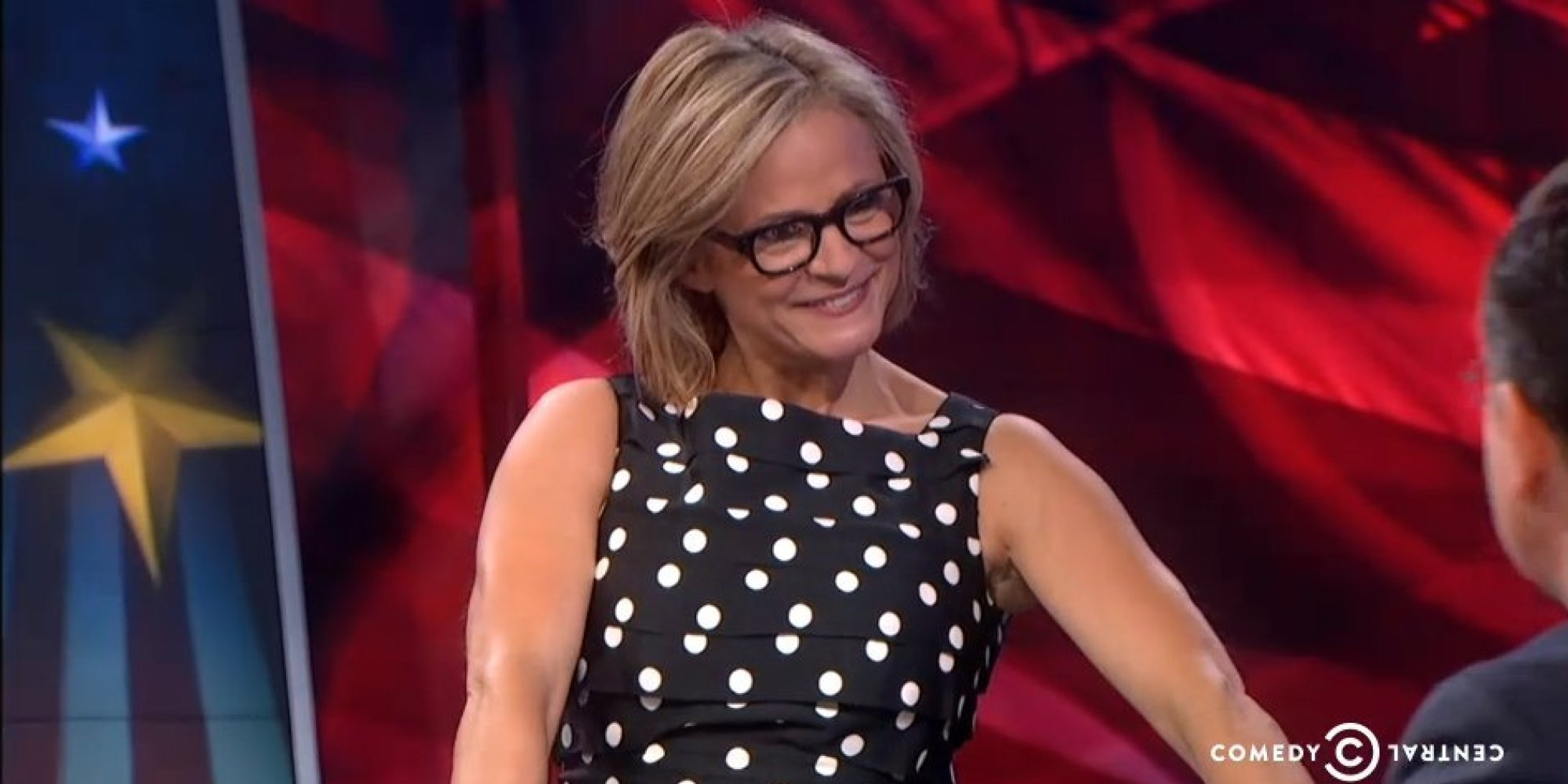 Amy Sedaris Surprises Stephen Colbert With An Even More